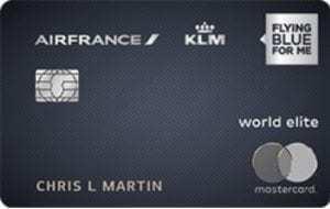 Air France-KLM World Elite Mastercard