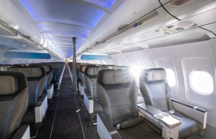 Alaska Airlines New Cabin