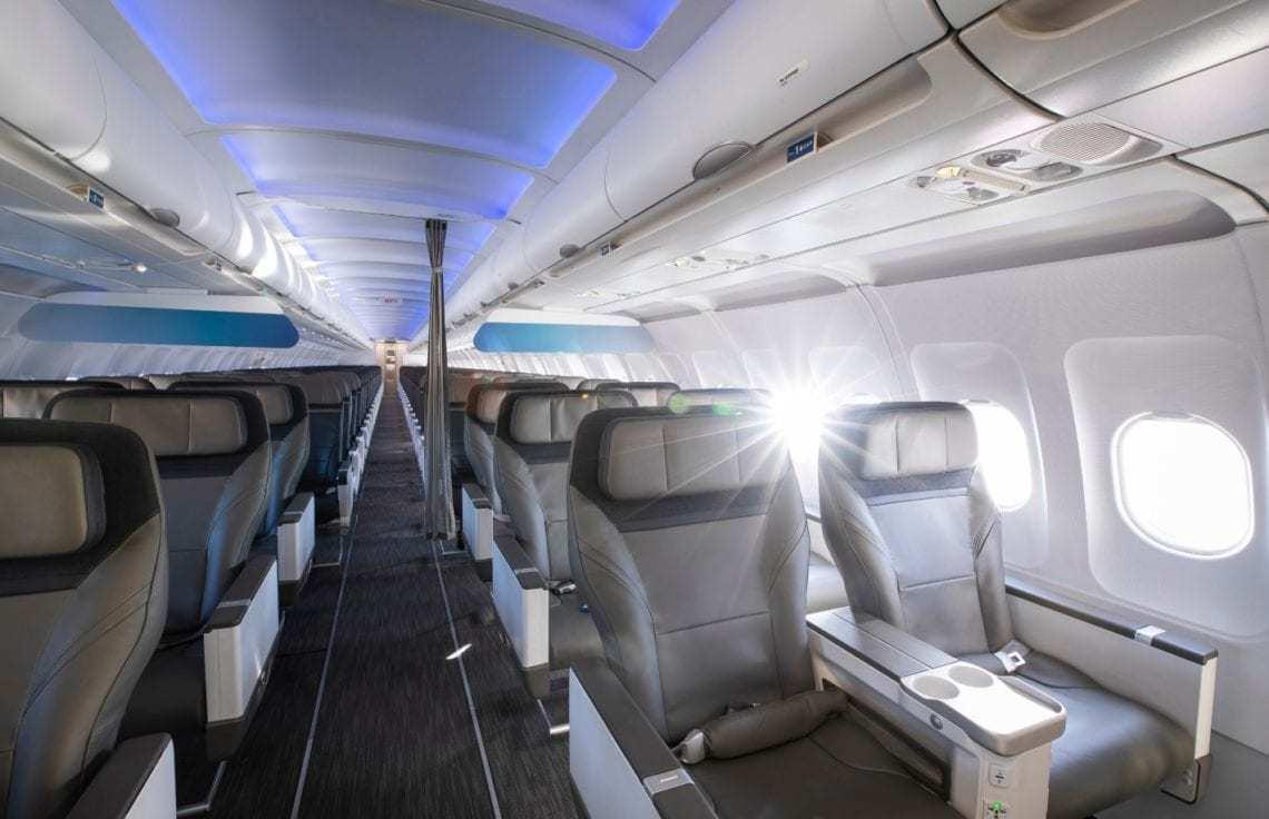 Alaska Airlines New Cabin