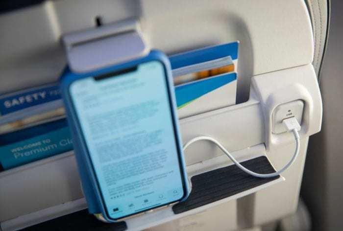 Alaska Airlines Tablet Holders