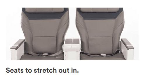 Alaska Airlines first class seats