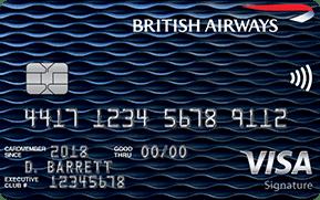 BA chase credit card