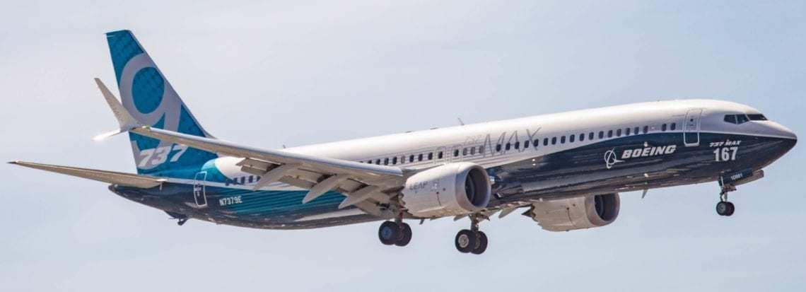 Boeing 737 MAX 9 Aircraft