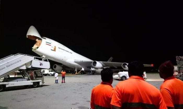 Boeing 747 Freighter Damage