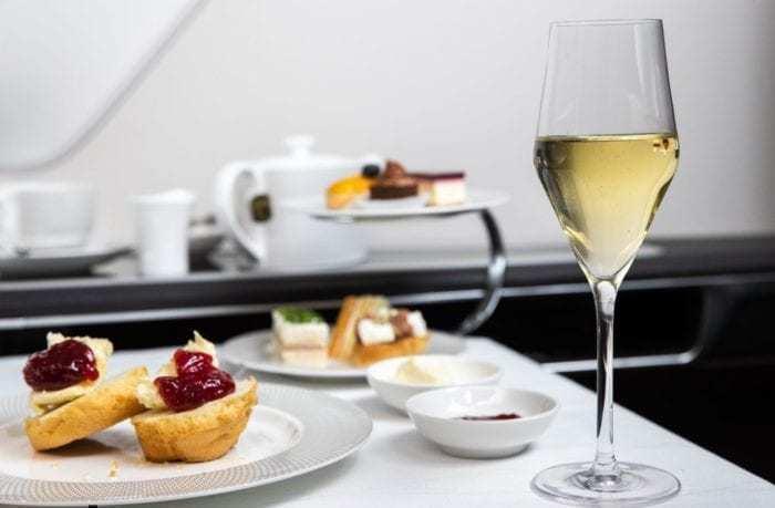 British Airways Afternoon Tea Service