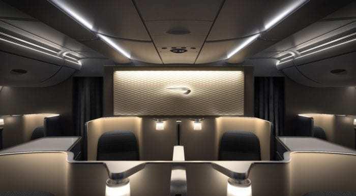 British Airways First Class
