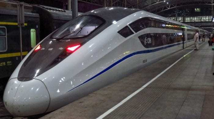 Chinese Bullet Train