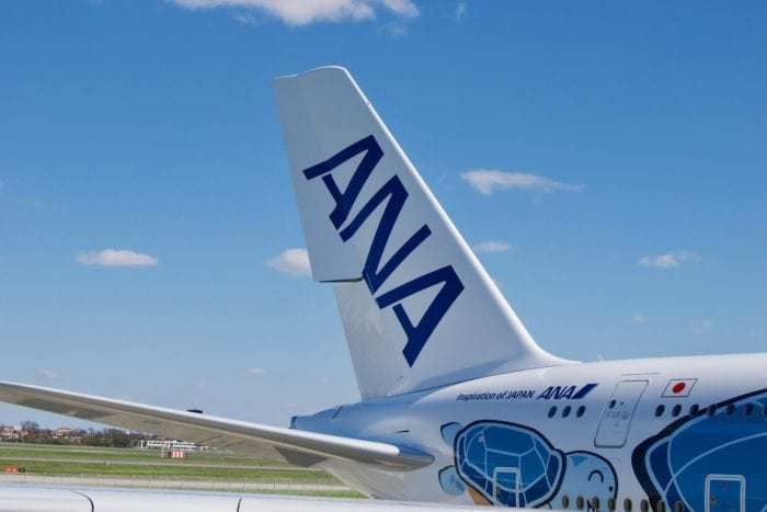 ANA A380 Delivery