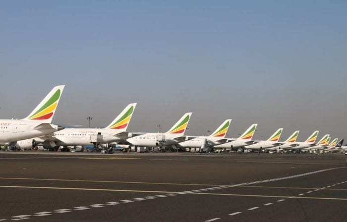 Ethiopian Airlines aircraft fleet