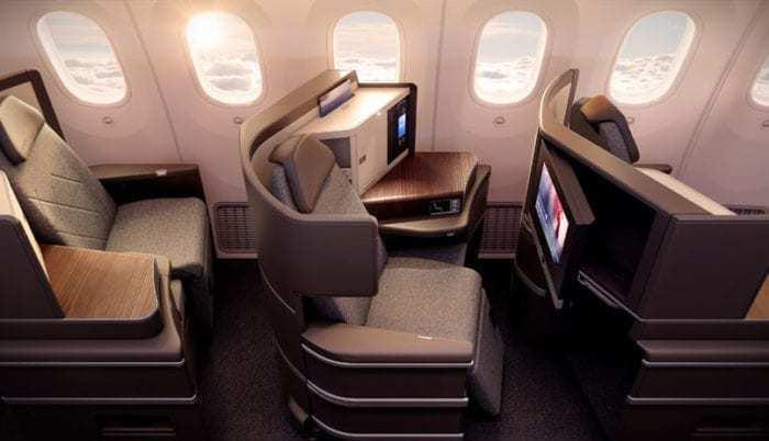EL AL business class 787 dreamliner