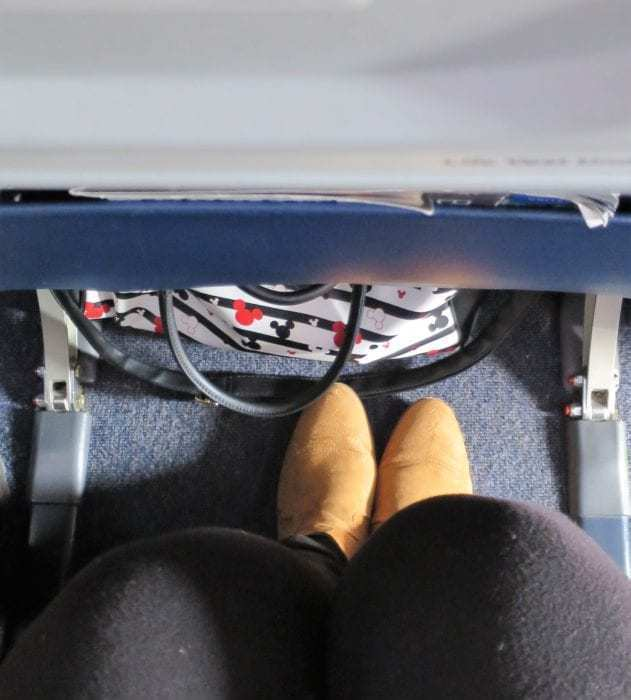 United Airlines economy