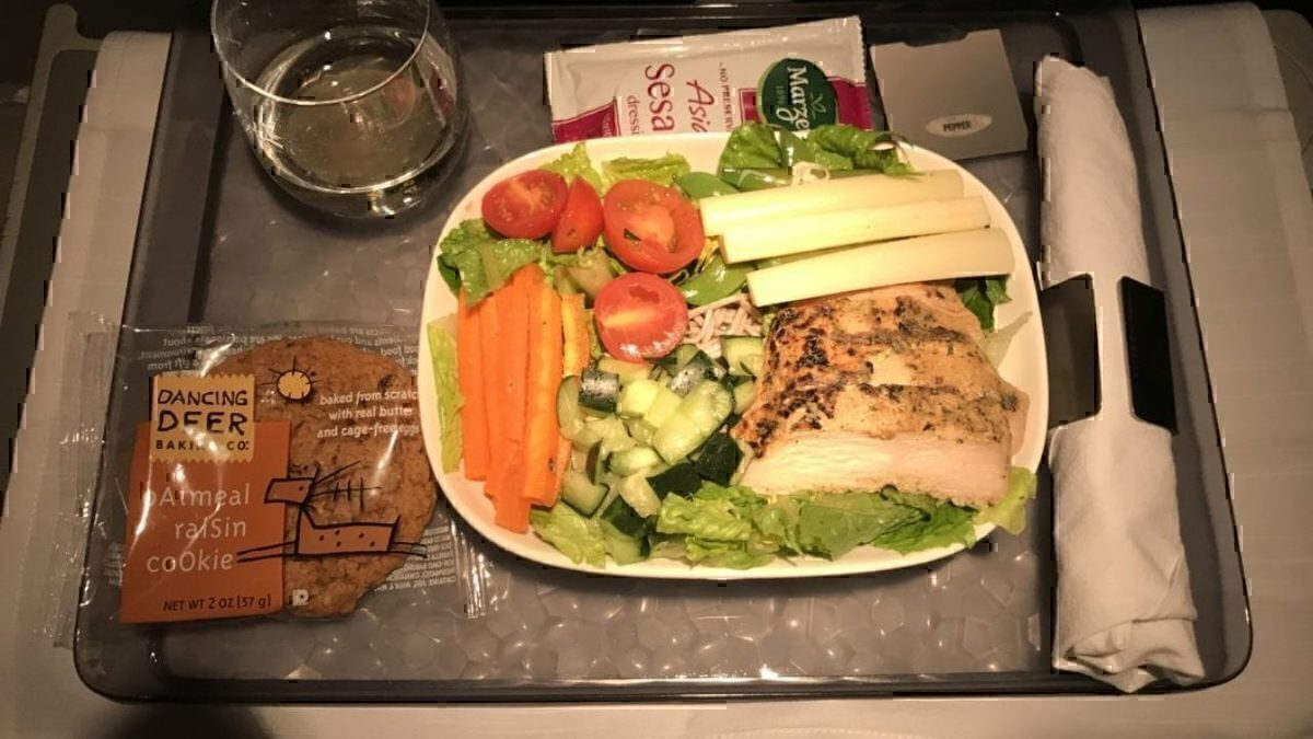 A Late Night Circus: Delta First Class Operated by Compass