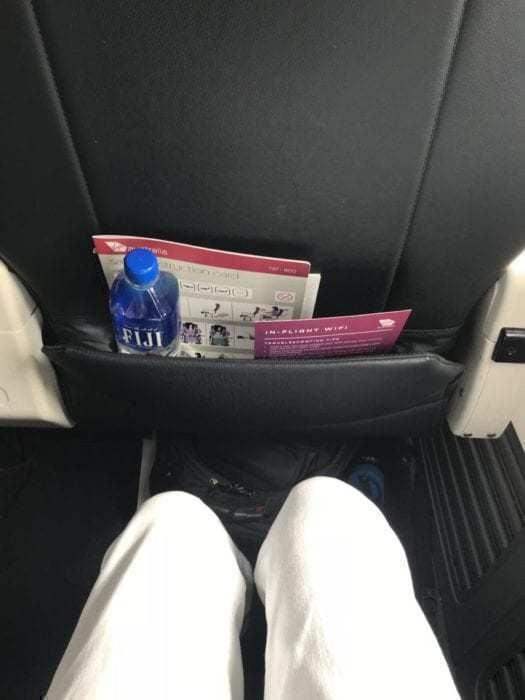 A Pleasant Sunset: Virgin Australia Business Class from Fiji to Sydney