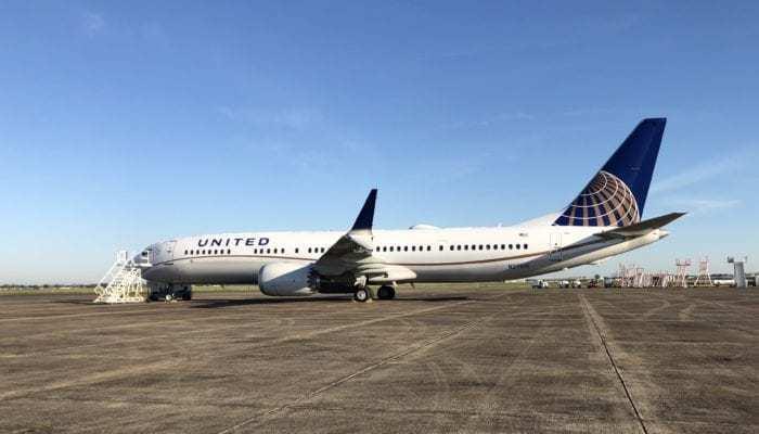 United Boeing 737 MAX 9 Grounding