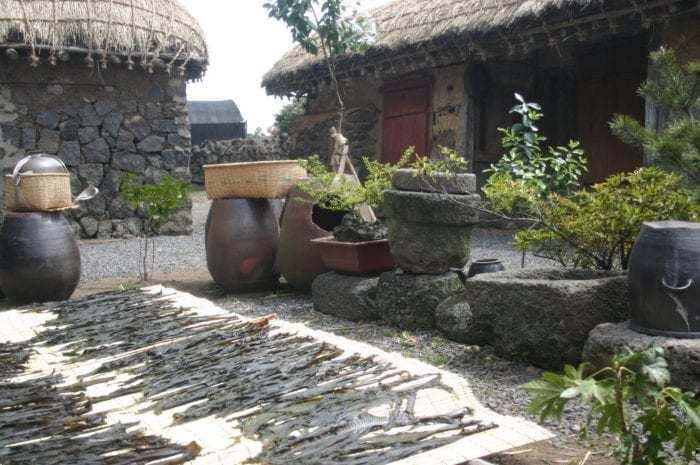 Spend SkyPass miles to visit the Jeju folk village