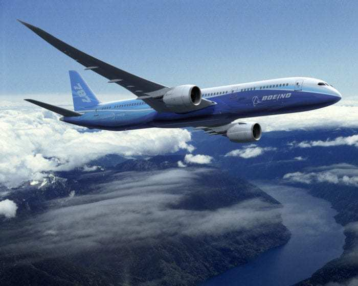 787-9 Dreamliner In-flight