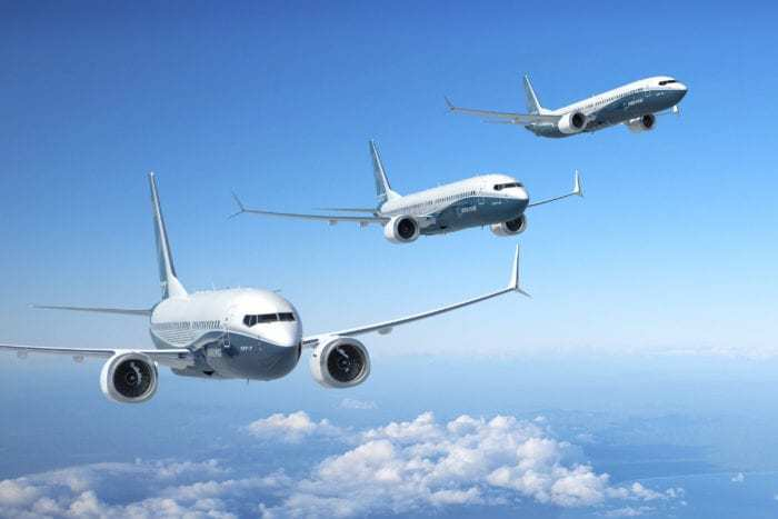 Boeing 737 MAX family
