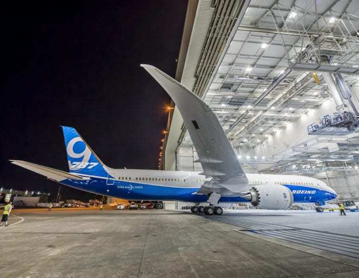 Boeing 787-9 Delivery