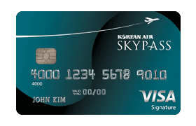 Korean Air Skypass credit card