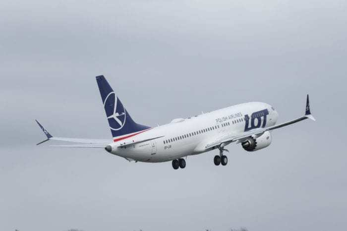 Boeing LOT Polish Airlines 737 MAX