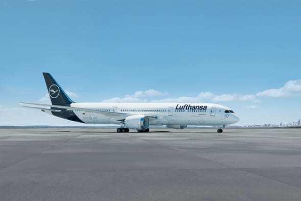 Lufthansa Boeing Dreamliner