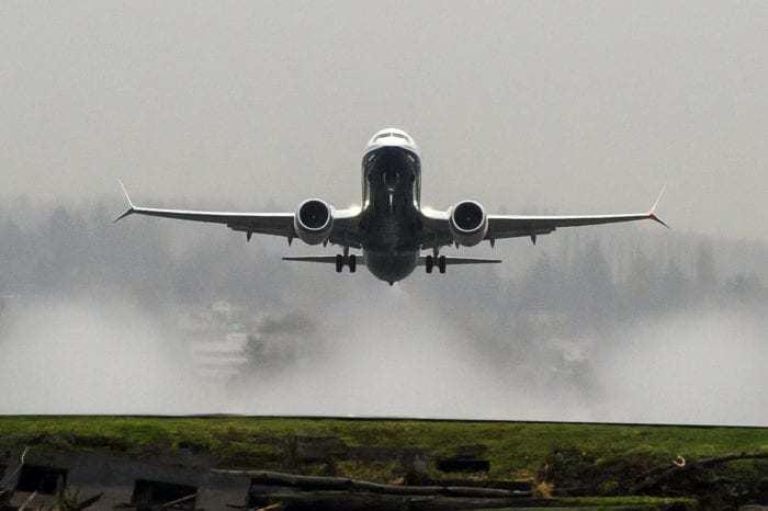 Boeing 737 MAX Takeoff