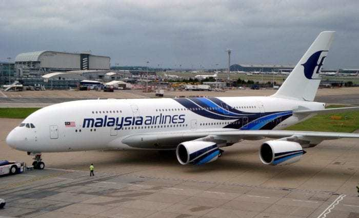 Malaysia Airlines A380