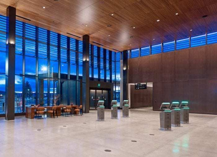 Paine Field Ticketing Hall