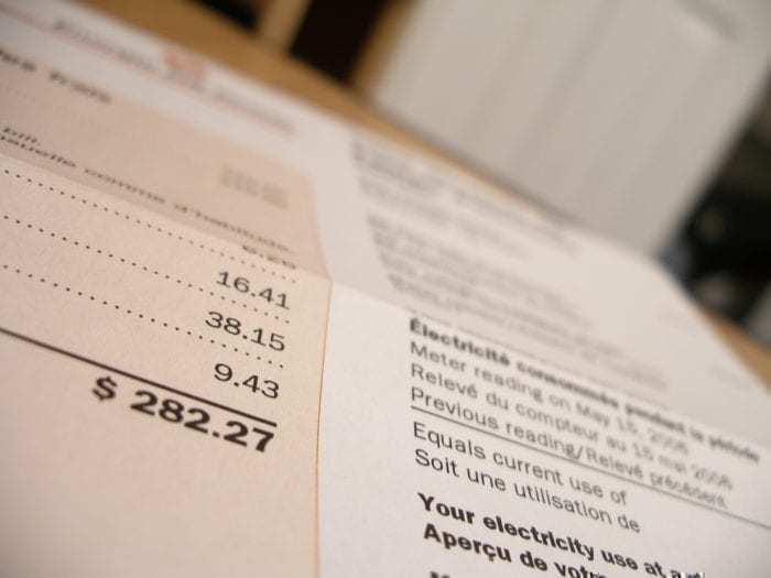 Rapid Rewards energy bills