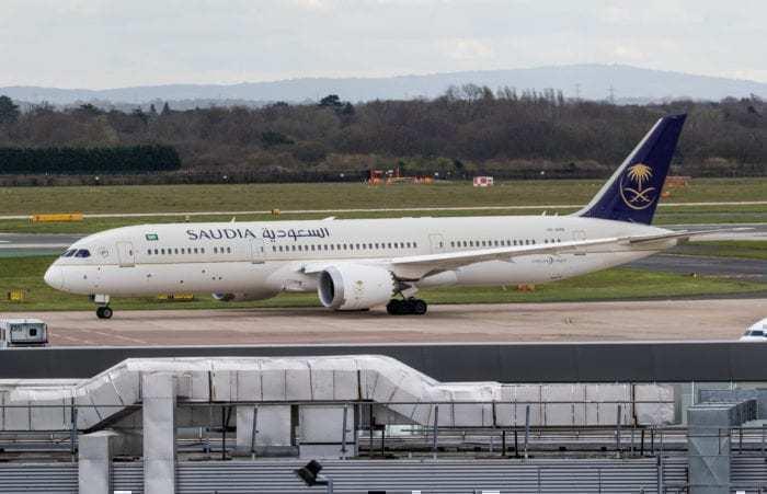 Boeing 787-9 Saudia