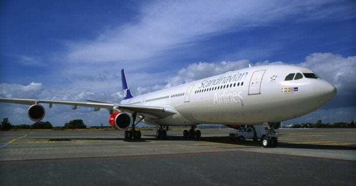 Scandinavian Airlines Aircraft