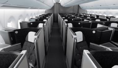 British Airways A350 Cabin