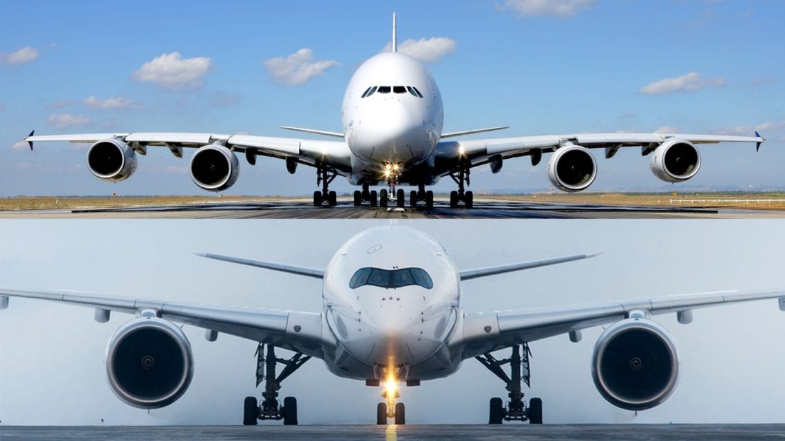 The Airbus A380 vs A350 - What Plane Is Best? - Simple Flying