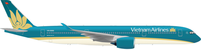 Vietnam Airlines New US Route Airbus A350