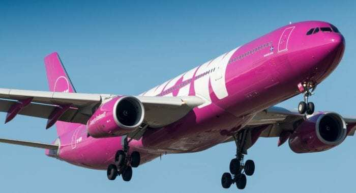 WOW air Airbus A330