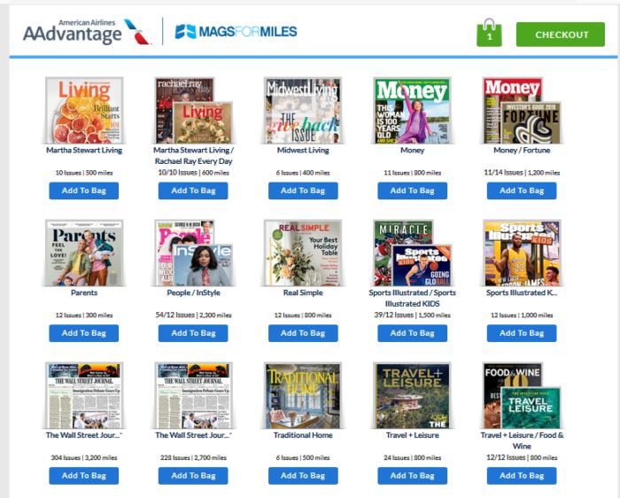 AA Magazines