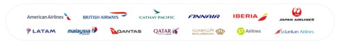 Oneworld airline logos