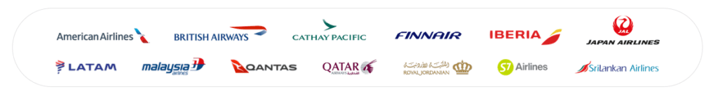Oneworld airline logos