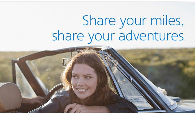Share AAdvantage miles