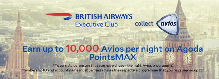 Earn Avios with Agoda