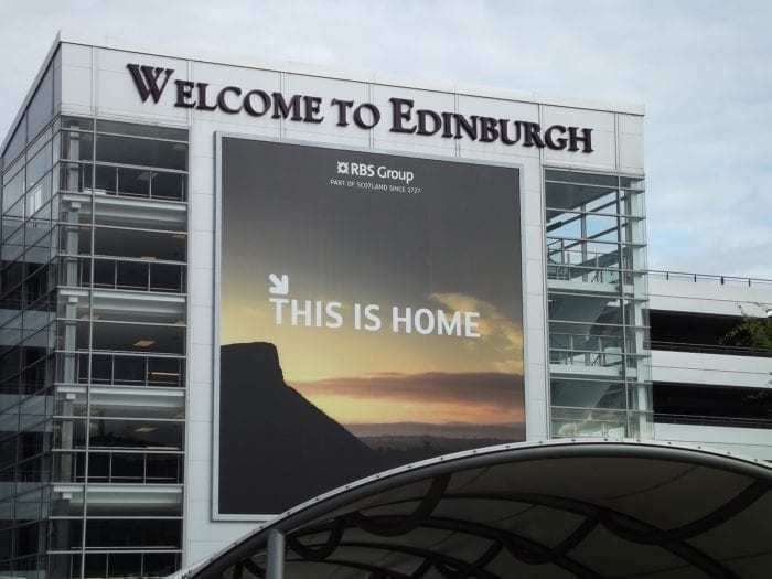 BA3217 diverted to Edinburgh