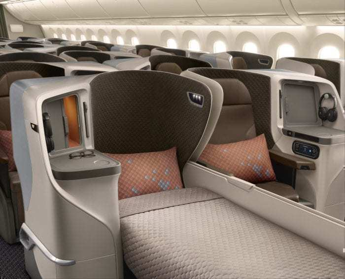 British Airways Reveals Photos Of New Club World Seat