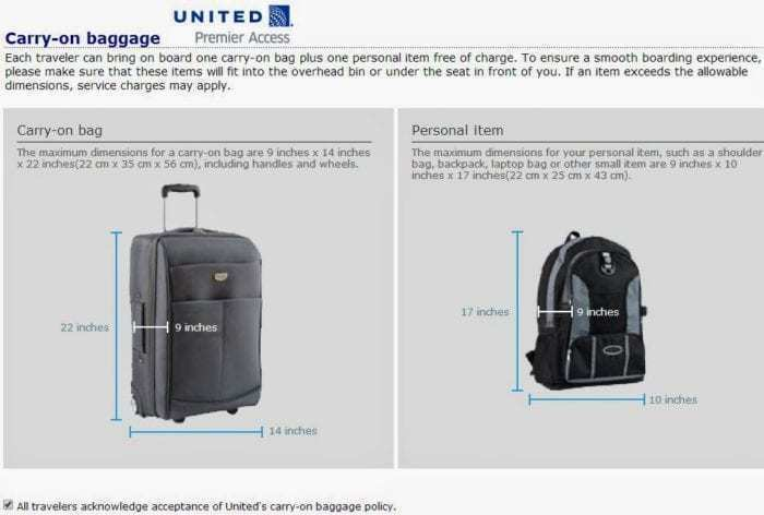 united baggage