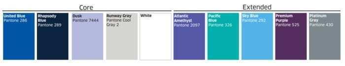 united branding palette