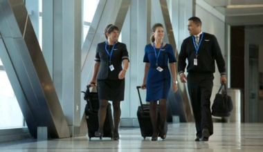 United Employees in Houston Bush International Airport