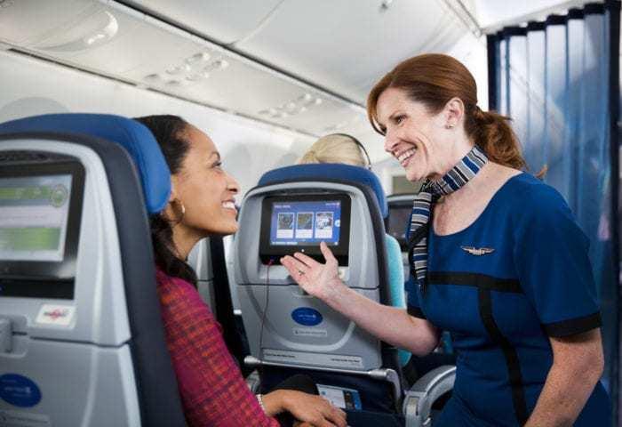 united flight attendant