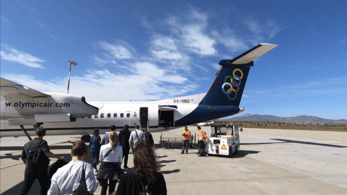 Flight Review: Olympic Air Dash-8 Q400, Athens To Zagreb