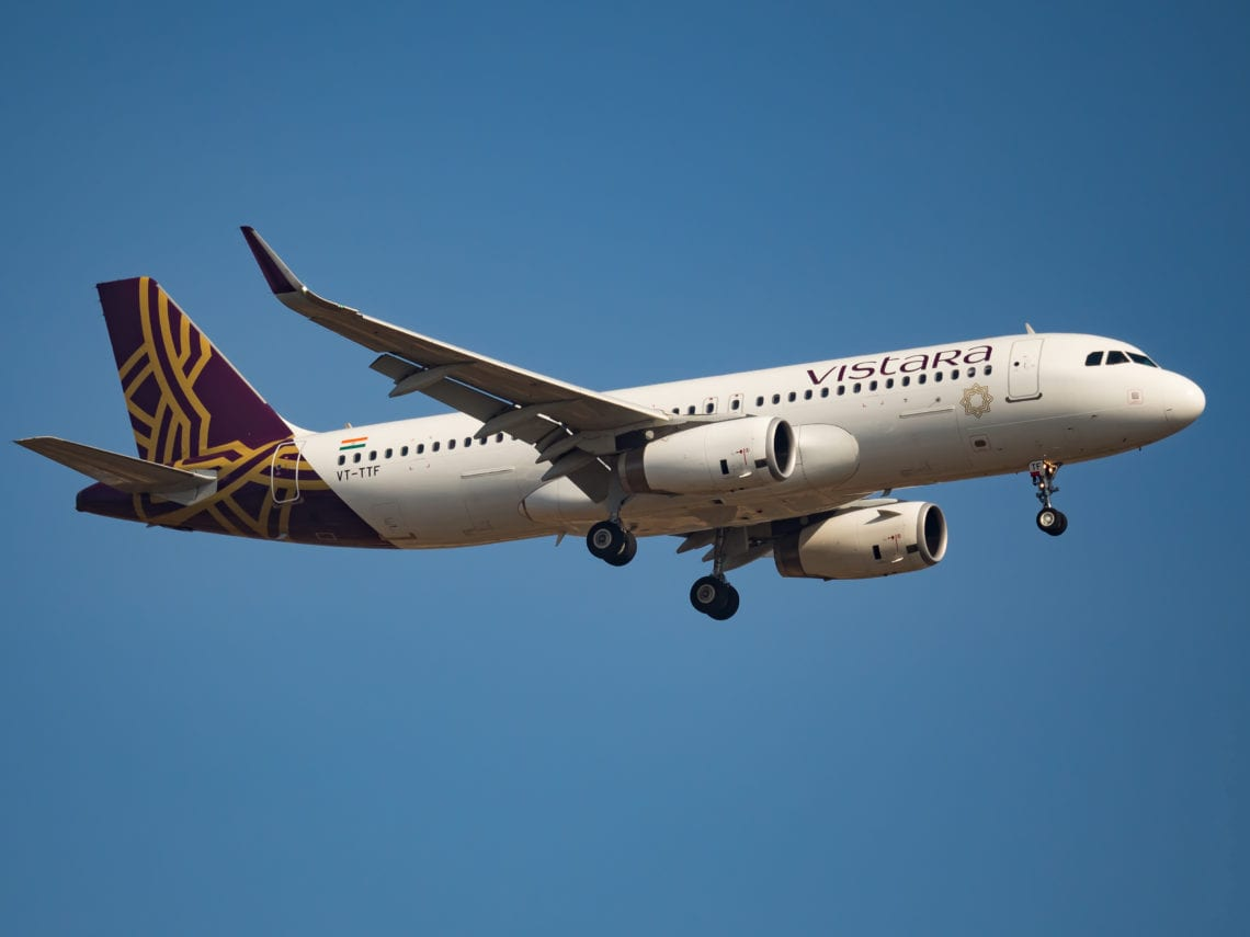 Vistara Poised For International Flights After Eying Jet Airways' 777's
