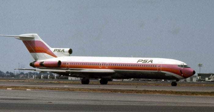 Boeing 727 PSA