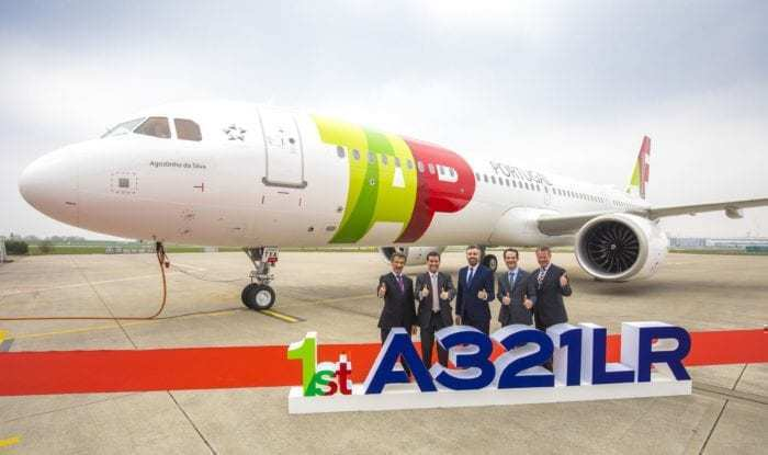 A321LR TAP Delivery